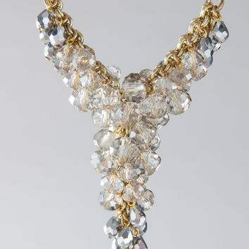 "Aris Geldis 17"" Crystal Bead Necklace"