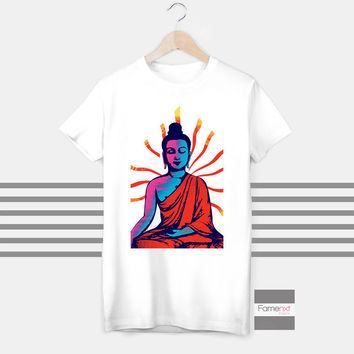 Buddha spiritual yoga t shirt, Om top - Ohm, Aum, T shirt for Men and Women