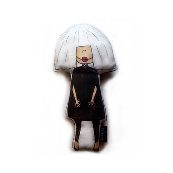 So into this design on Fab! Sia Doll #FabForAll