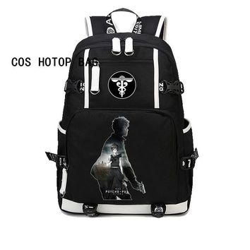 Anime Backpack School Japan kawaii cute PSYCHO PASS Backpack For boys girl Children student book Bag School Backpack Teenagers Travel Rucksack Bag 8 style AT_60_4