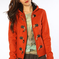 The Stella Jacket in Burnt Orange