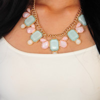 Love Your Memory Necklace: Mint