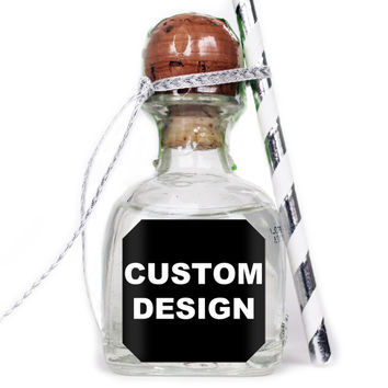 Upload Your Own Design - Custom Patron Mini Bottle Labels