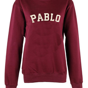 Pablo crew neck sweatshirt unisex womens mens ladies  print tshirt i feel like pablo Yeezy Season 3 Yeezus Kanye West The Life Of Pablo