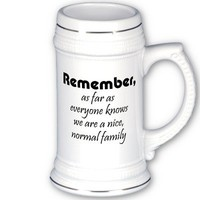 Funny beer mugs bulk discount family gift ideas from Zazzle.com