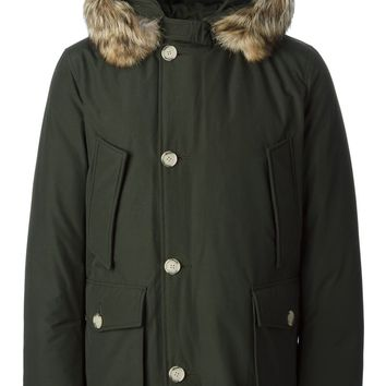 Woolrich coyote fur trimmed parka