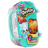 Lot of (5) FIve Shopkins Season 3 Baskets