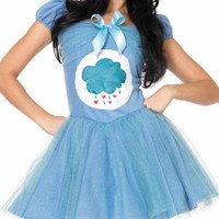 Leg Avenue 2-Piece Grumpy Bear Care Bears Adult Halloween Costume - Walmart.com