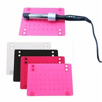 2016 New Useful Anti-Heat Mat Heat Resistant Silicone Mat for Straighter/Curling Iron
