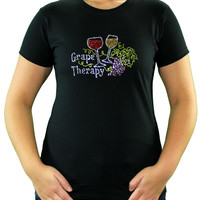 Grape Therapy Wine T-Shirt