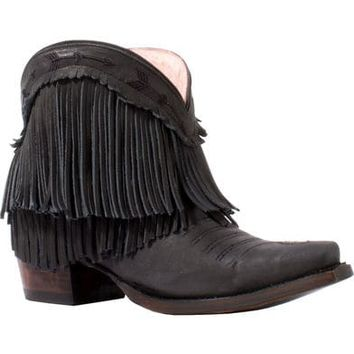 Junk Gypsy by Lane Women's Black Spitfire Boots - Snip Toe