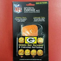 NFL Green Bay Packers Halloween Pumpkin Carving Kit