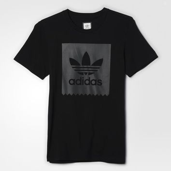 adidas Blackbird Logo Fill Tee - Black | adidas US