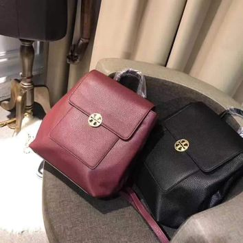 TB TORY BURCH WOMEN'S LEATHER BACKPACK BAG