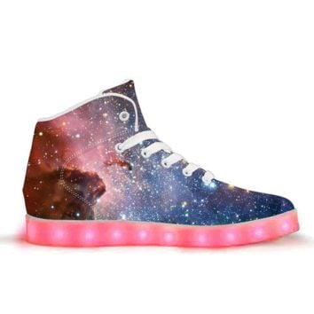 Lightyear - APP Controlled High Top LED Shoes