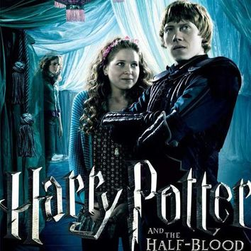 Harry Potter and the Half-Blood Prince (UK) 11x17 Movie Poster (2009)