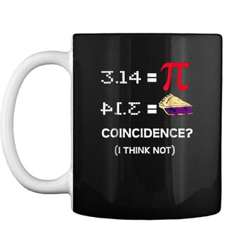 Pi Equals Pie Funny Math Pun Pi Day  Mug