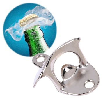 Retro Wall Mounted Bottle Opener Beer Opener Vintage Open Tool for Wine Soda Glass Cap Kitchen Bar Restaurant Gift