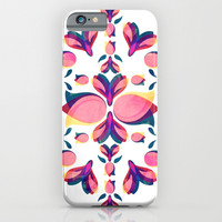 Tulip Pattern iPhone & iPod Case by VessDSign