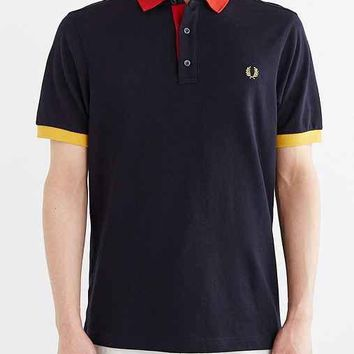 Fred Perry Color Pop Polo Shirt- Navy