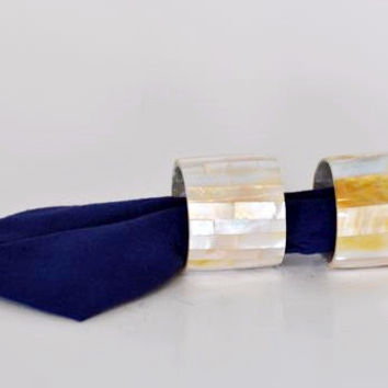 Shell Napkin Rings (pair)