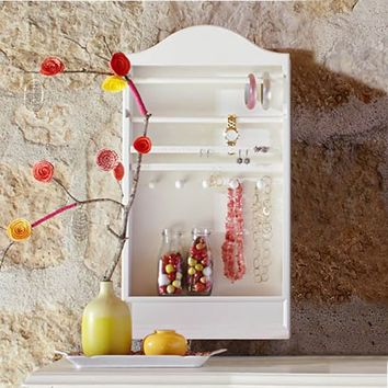 Arched Wall Jewelry Storage
