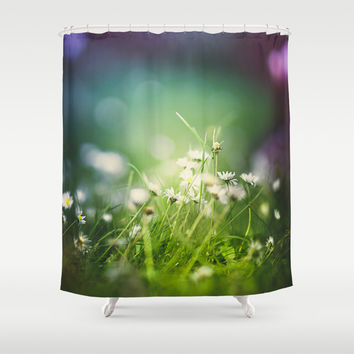 I tripped again Shower Curtain by HappyMelvin