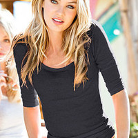 Three-quarter Sleeve Tee - Essential Tees - Victoria's Secret