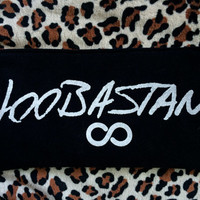 HOOBASTANK - Upcycled Concert/ Band T-shirt Makeup/ Pencil Pouch - ooak