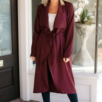 See the Beauty Mulberry Trench Coat
