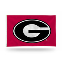 Georgia Bulldogs NCAA 3ft x 5ft Banner Flag