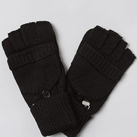 The Fingerless Biker Gloves in Black