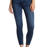 HUDSON Jeans | Nico Mid Rise Cropped Super Skinny Jeans | HauteLook