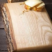waney ash board by naturally created | notonthehighstreet.com