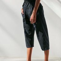 Silence + Noise Lennie Cropped Paperbag Pant | Urban Outfitters