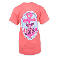 It's A Girl Thing Refuse to Sink Anchor T-Shirt - Coral