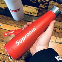 Supreme Fashion Simple Stainless Steel Belly Cup Vacuum Flask Thermo Mug Water Cup I13488-1