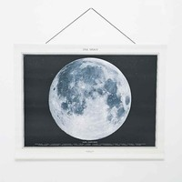 Medium Canvas Moon Wall Art - Urban Outfitters
