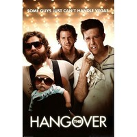 The Hangover - Movie Poster People Poster Print, 24x36 Collections Poster Print, 24x36 People Poster Print, 24x36