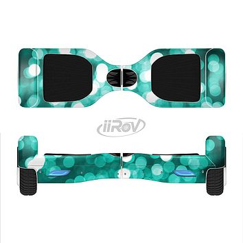 The Unfocused Teal Orbs of Light Full-Body Skin Set for the Smart Drifting SuperCharged iiRov HoverBoard