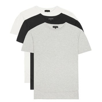 3 Pack Drop Shoulder Oversized Tshirts