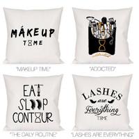 MAKEUP DECORATIVE PILLOW