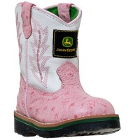 John Deere - Johnny Popper Infant Boot - Pink Ostrich