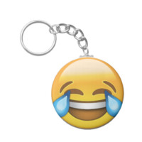 Face With Tears Of Joy Emoji Key Chain