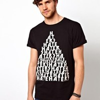 ASOS T-Shirt With Hater Print at asos.com