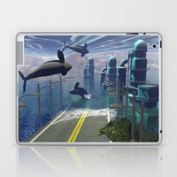 Flying orcas Laptop & iPad Skin by nicky2342