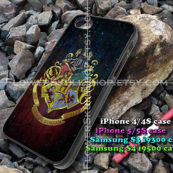 hoghwart wood galaxy iphone case, iphone 4/4S, iphone 5/5S, iphone 5c, samsung s3 i9300, samsung s4 i9500, design accesories
