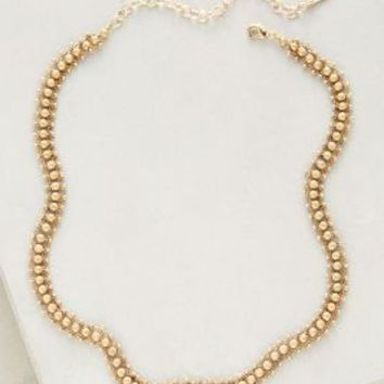 Juvisia Collar Necklace by Anthropologie in Gold Size: One Size Necklaces