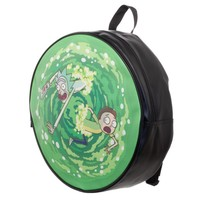 Rick and Morty Green Portal Bag Portal Backpack Inspired by Rick and Morty