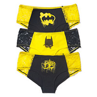 Batman Graffiti 3-Pack Panties
